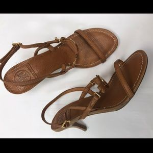 ce4747bbc2b1 Tory Burch Shoes - Tory Burch Mira Sandal with Kitten Heel